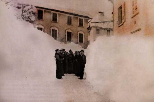 Neve 1888 Domodossola