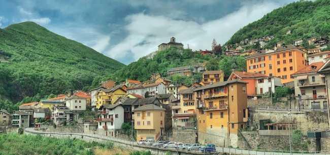 Villadossola Altstadt