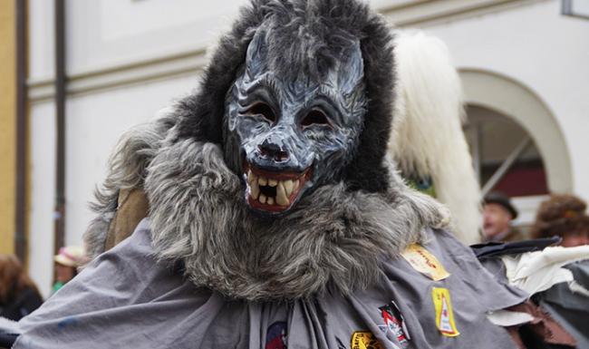 carnevale maschera lupo