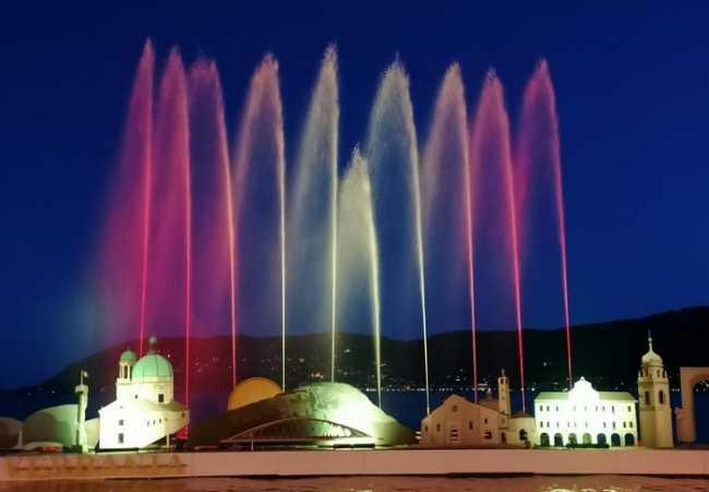 fontana lumi