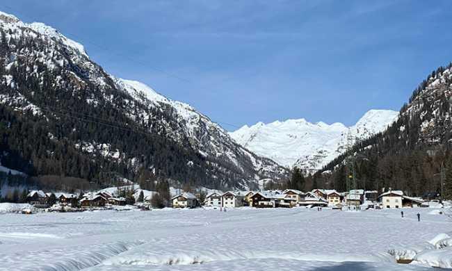 formazza paese panorama neve 19