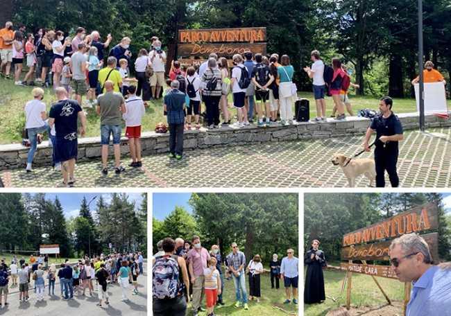 inaugurazione parco avventura domobianca