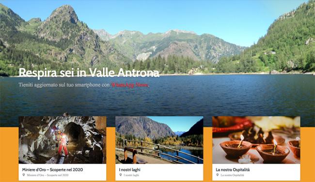 valleantrona.com nuovo sito